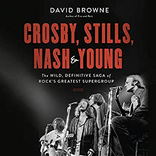 Crosby, Stills, Nash and Young audiobook cover art