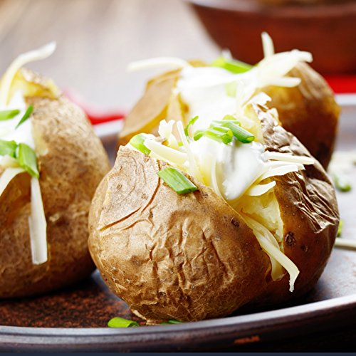 Kansas City Steaks 8 ( 5oz.) Twice Baked Potatoes with Sour Cream & Chive