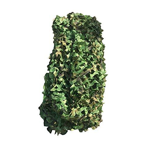 LHJJ Filet D'ombrage Vert, Filet De Camouflage 4x5m, Filet De Protection Solaire pour Décoration De Patio; Store; Chasse Militaire; Camping; Cachette Extérieure