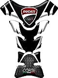 PARASERBATOIO ADESIVO RESINATO EFFETTO 3D compatibile con Ducati Corse