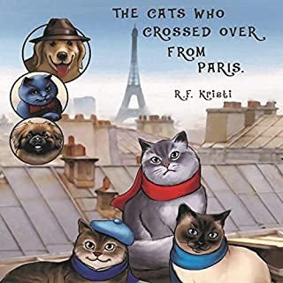 The Cats Who Crossed Over from Paris audiobook cover art