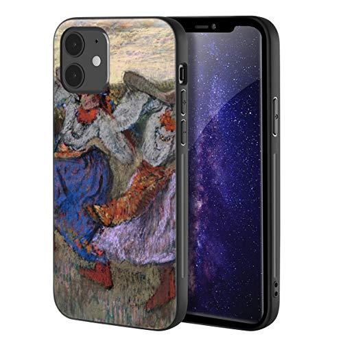 Berkin Arts Edgar Degas Custodia per iPhone 12 Mini/Custodia per Cellulare Art/Stampa giclée UV sulla Cover del Telefono(Ruso Bailarines)