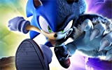 makeuseof The Most exciting Game Poster Sonic Unleashed Game 24x36 inch Art Silk Poster Wall Decor