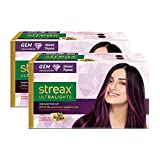 HIGHLIGHT YOUR HAIR - With Streax Ultralights Hair Highlighting kit, offer yourself a gorgeous makeover with our vibrant shades and brighten up the way your hair looks 10 GORGEOUS & VIBRANT SHADES – Streax offers ten completely different and lively h...