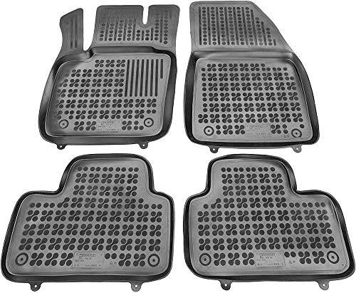 Rezaw-Plast Alfombrillas de Goma Compatible con Volvo XC40 (Desde 2017) + Limpiador de Plasticos (Re