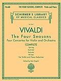 Vivaldi Four Seasons Vln And Pf Complete: Noten für Violine, Klavier: Schirmer Library of Classics Volume 2047