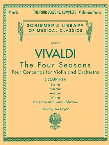 Antonio Vivaldi The Four Seasons Complete Edition Vln