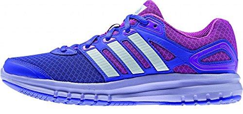 Adidas Duramo 6 - Zapatillas de running para mujer, color morado / azul marino / plata / blanco, talla 38 2/3
