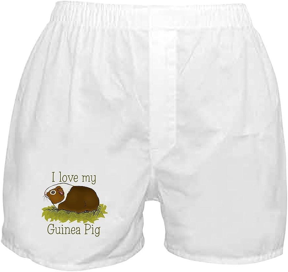 CafePress discount I Choice Love My Boxer Pig Guinea Shorts