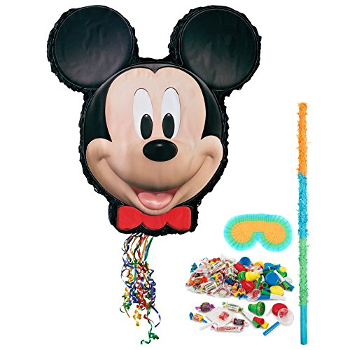 BirthdayExpress Disney Mickey Mouse Party Supplies - Pinata Kit