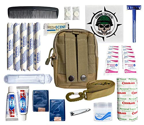 Premium Survival Hygiene Kit – Camping Hygiene Supplies – 72 Hour...