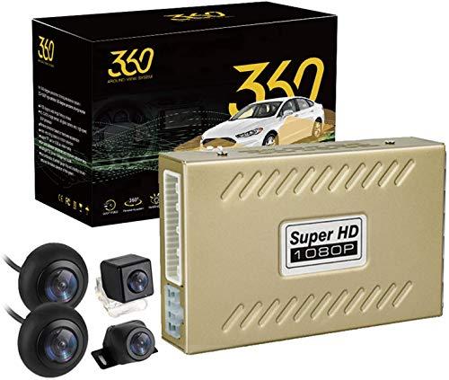 ASTSH 360 Degree Bird View Panorama System 4 Cameras 1080P Night Vision Car DVR Recorder Rear View DVR/Dash Camera