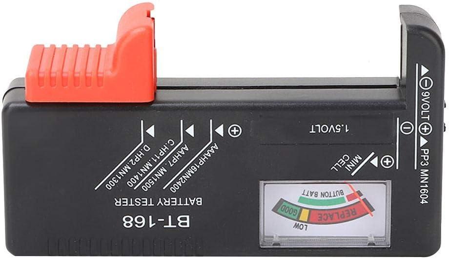 Aa Battery Tester Digital Battery Tester Battery Load Tester for 1.5V Aa Battery