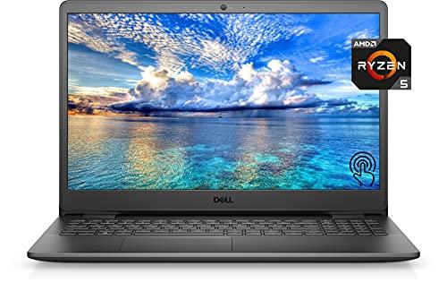 2021 Newest Dell Inspiron 3000 Premium Laptop, 15.6' FHD TouchDisplay, AMD Ryzen 5 3450U, 16GB DDR4 Memory, 512GB PCIe SSD, Online Class Ready, Webcam, WiFi, HDMI, Bluetooth, Win10 Home, Black