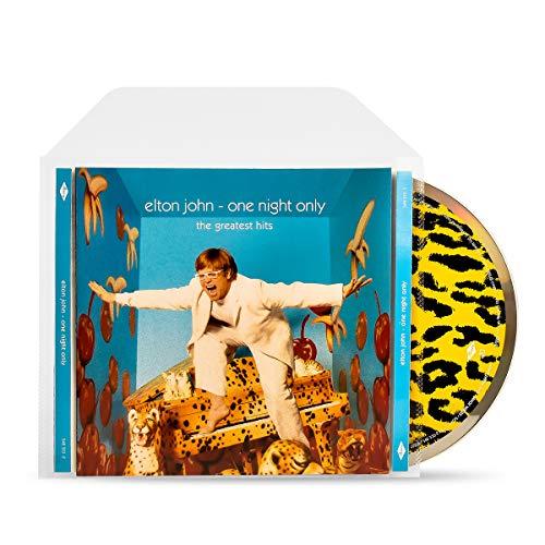 3L CD Hülle mit Verschlussklappe - Praktisch für die CD Aufbewahrung - 100 Stück - CD-Hüllen Plastik für Sammelmappe & Ordner - 10292