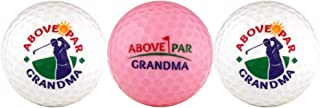Above Par Grandma Variety Golf Ball Gift Set