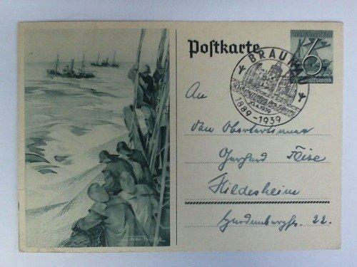 Postkarte / Ganzsache mit Stempel: 50. Geburtstag des Führers, 20.4.1939, Braunau