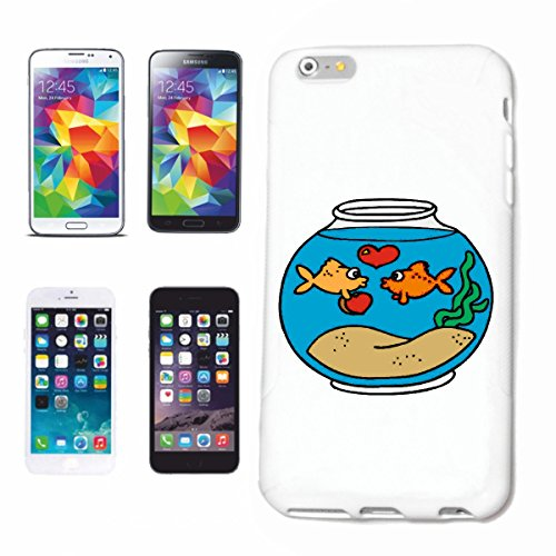 Reifen-Markt Funda para iPhone 6S, diseño de peces dorados, divertido, película de culto, dibujos animados, divertido, divertido, película de culto