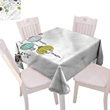 Zara Henry Lantern Tablecloths Abstract New Year China Home Outdoor Rectangular Tablecloth W70 xL70