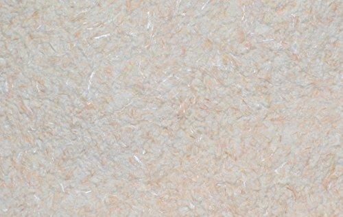 SILK PLASTER Optima 058 Dekorputz Flüssigtapete Rauhfaser-Alternative Tapete beige/weiß Baumwollputz