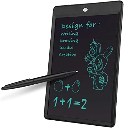 """ASHATA LCD Scrittura Tablet, 10""""Smart LCD Portatile E-Writing Board Electronic Scrittura a Mano Disegno Pittura Tablet Memo, tavolette grafiche Eye-Friendly No Polvere/Mark/Odore. - Trova i prezzi più bassi"""