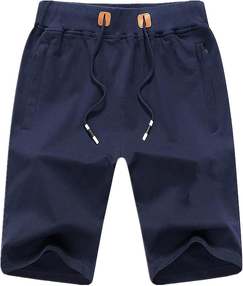 NP Men's Shorts Shorts Casual Print Bear Color Sports Male Five-Point Pants