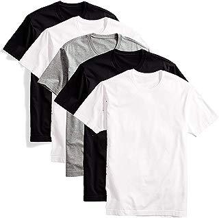 Kit com 5 camisetas básicas masculina t-shirt algodão colors tee