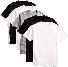 Kit com 5 camisetas básicas masculina t-shirt algodão