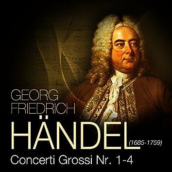 Händel: Concerto Grosso op. 6, No. 1-4
