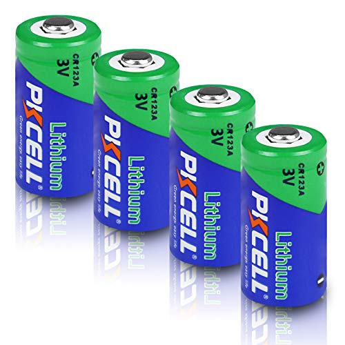 CR123A電池 3Vリチウム電池 バッテリ1500mAh非充電式 ライト カメラ ビデオ おもちゃなどに適用 4個