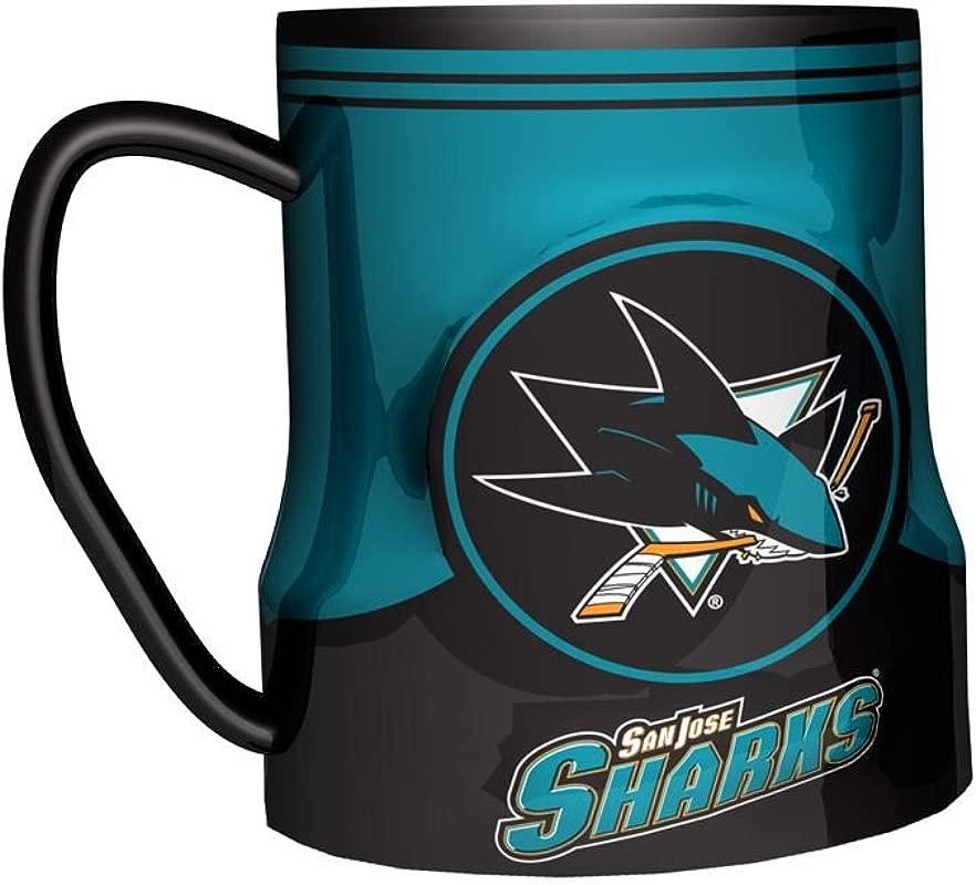 Boelter Brands San Jose Sharks Coffee Mug 18oz Game Time