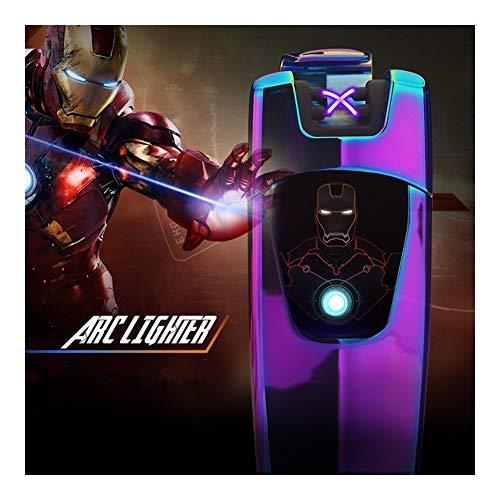 YUHUII sigarettenaansteker, elektrisch, oplaadbaar, USB, plasma arc, sigarettenaansteker, elektronisch, Encendedor gadget voor mannen