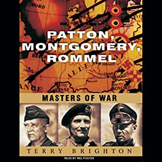 Patton, Montgomery, Rommel audiobook cover art