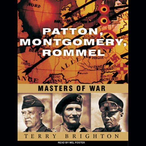 Patton, Montgomery, Rommel cover art