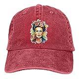 N/A Dad Hat,Ocio Sombrero,Sombrero De Sol,Sombrero De Deporte,Sombreros Sombrilla Al,FRI-Da-Kahlo Denim Jeanet Gorra De Béisbol Ajustable Dad Hat
