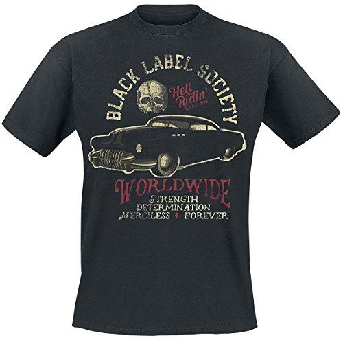 Black Label Society Hellride Hot Rod T-shirt noir L