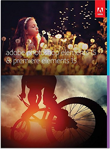 Adobe Photoshop Elements 15 & Premiere Elements 15 | Standard | PC/Mac | Disc