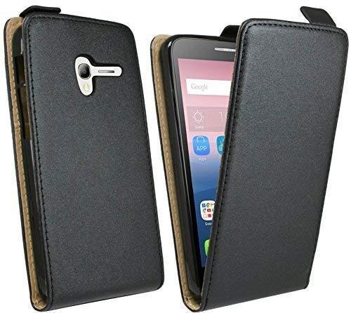 ENERGMiX Handytasche Flip Style kompatibel mit Alcatel One Touch POP 3 (5,0