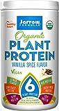 Best Jarrow Vegan Protein Powders - Jarrow Formulas Organic Plant Protein, Vanilla Spice, 16 Review
