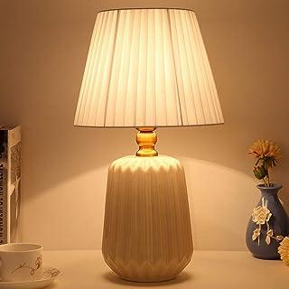 Lampe de Table Lampe de table en céramique simple chambre moderne lampe de table de chevet créativité petite fraîche, chau...
