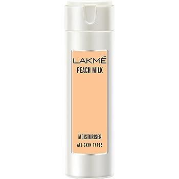 Lakme Moisturizer Body Lotion, Peach Milk, 120 ml