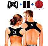 D&D Corrector Postura Espalda Hombre Mujer+Bola Masajeadora. Espalda Recta. Corrector...