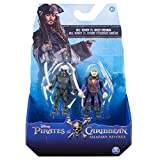 Bizak Piratas del Caribe - Pack 2 Figuras de Ghost Crew y Will Cursed 61923101