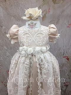 Janis Baptism Gown Blush