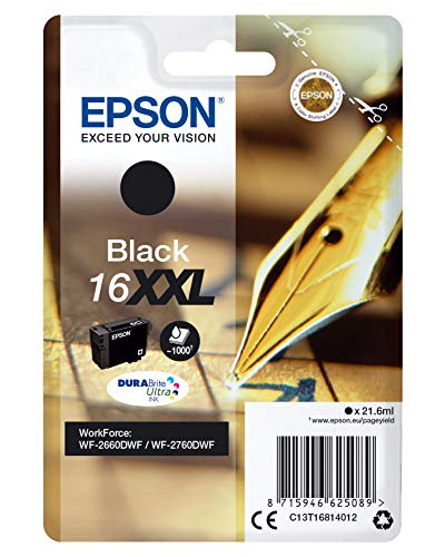 EPSON Singlepblack16xxldurabr. Ultrink Pen+crossw. Rsblis (rf+amsec. Tags)
