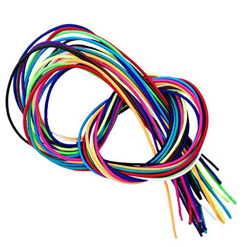 Flexy-Laces elastische Schnürsenkel ca. 140 cm (neongrün)