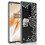 SYONER Clear Phone Case Cover for OnePlus 8 5G T-Mobile/Unlocked (6.5', 2020) [Not for OnePlus 8 from Verizon] [Elephant]