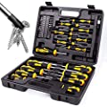 Amartisan 42-piece Magnetic Screwdriver Set with Case, Includs Slotted, Phillips, Hex, Pozidriv,Torx and Precision Screwdriver Set by AMARTISAN