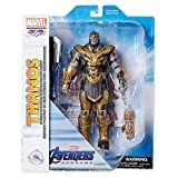 Figures Thanos Collector Edition Action Marvel Select by Diamond – 9'' – Marvel's Avengers: Endgame