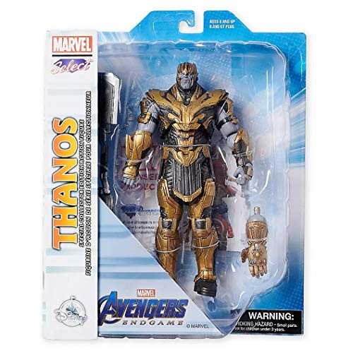 Figure Thanos Collector Edition Action Marvel Select by Diamond – 9'' – Marvel's Avengers: Endgame